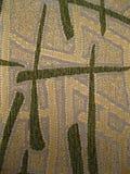 Textuur van decoratieve stof met een abstract patroon in oosterse stijl Stock Afbeelding