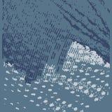 Textuur van denim Stock Afbeeldingen