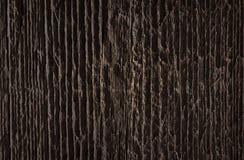 Textuur van donker bruin oud ruw hout Abstracte achtergrond voor ontwerp stock foto
