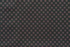 Textuur van donkere stof met een abstract patroon Royalty-vrije Stock Afbeeldingen