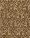 Textuur van donkere zijdestof met een overmaats geborduurd bloemenpatroon Royalty-vrije Stock Foto