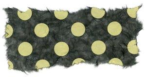 De geïsoleerde Textuur van het Rijstpapier - Groene Stippen  Royalty-vrije Stock Afbeeldingen