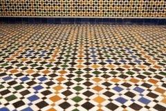 Textuur van een Arabische vloer Stock Afbeelding