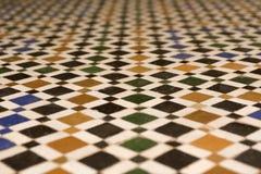 Textuur van een Arabische vloer Royalty-vrije Stock Foto's