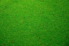 Textuur van een gekleurd korrelig zand dicht omhoog Groene korrels royalty-vrije stock afbeelding