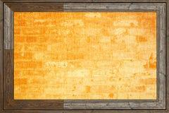 Textuur van een gele stof stock illustratie