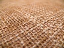 Textuur van een jute Royalty-vrije Stock Foto