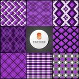 Textuur van een krat in viooltje Royalty-vrije Stock Afbeeldingen