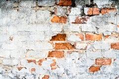 Textuur van een oude bakstenen muur stock fotografie