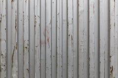 Textuur van een oude metaalcontainer Royalty-vrije Stock Foto
