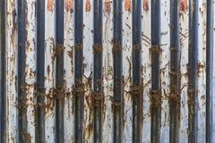 Textuur van een oude metaalcontainer Royalty-vrije Stock Fotografie