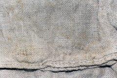 Textuur van een oude vuile aardappelzak Royalty-vrije Stock Afbeelding