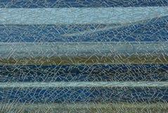 Textuur van een stuk van glas met barsten royalty-vrije stock foto