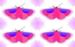 Textuur van een vlinder Stock Foto's
