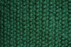 Textuur van gebreid groen canvas Royalty-vrije Stock Fotografie