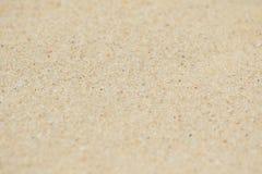 Textuur van geel zand Royalty-vrije Stock Afbeelding