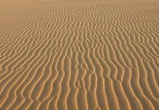 Textuur van geel zand Stock Foto's