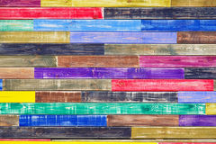Textuur van gekleurd grunge hout Royalty-vrije Stock Foto's