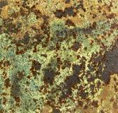 Textuur van geroest metaal Stock Foto's