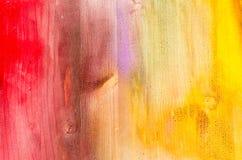 Textuur van geschilderde multi gekleurde Houten Plankenachtergrond Royalty-vrije Stock Fotografie