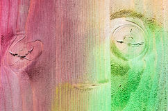 Textuur van geschilderde multi gekleurde Houten Plankenachtergrond Royalty-vrije Stock Afbeelding