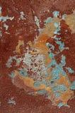 Textuur van gipspleister met verf Royalty-vrije Stock Foto