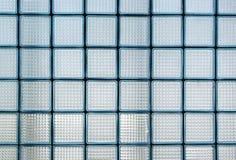 Textuur van glas Stock Afbeeldingen
