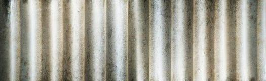 Textuur van golvende het daktegels van de cementglasvezel stock foto's