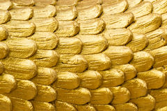 Textuur van gouden draakhuid Royalty-vrije Stock Fotografie