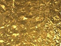Textuur van gouden folie Stock Foto