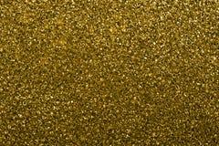 Textuur van gouden goudklompjes Stock Afbeelding
