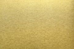 Textuur van gouden metaal, abstracte patroonachtergrond, selectieve nadruk Royalty-vrije Stock Fotografie