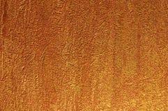 Textuur van gouden muur Royalty-vrije Stock Afbeelding