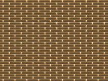 Textuur van gouden muur Stock Afbeeldingen