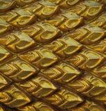 Textuur van gouden Naka Royalty-vrije Stock Fotografie