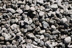 Textuur van graniet grijs puin Stock Foto