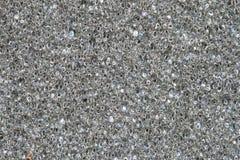 Textuur van grijze spons Stock Foto