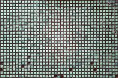 Textuur van groen mozaïek royalty-vrije stock fotografie