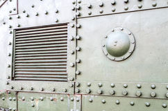 Textuur van groene militaire tank royalty-vrije stock fotografie