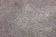 Textuur van grond zwart zand Royalty-vrije Stock Foto