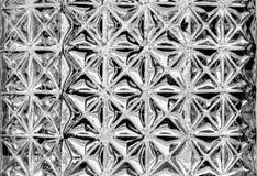 Textuur van het close-up de uitstekende glas Stock Afbeeldingen