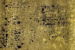 Textuur van het Grunge de ultra gele Concrete cement, steenoppervlakte, rotsachtergrond Royalty-vrije Stock Afbeeldingen