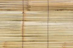 Textuur van het grungebamboegordijn stock foto's