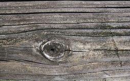 Textuur van het houten Close-up van het plankenwijfje met Barsten stock foto's
