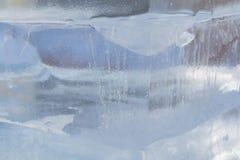 Textuur van het ijs stock afbeeldingen