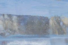 Textuur van het ijs stock foto