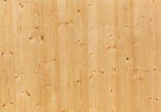 Textuur van het paneel van het pijnboomhout stock foto