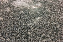 textuur van het sneeuw behandelde glas van de glasclose-up bevroren auto royalty-vrije stock afbeeldingen