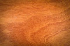 Textuur van het vernisje de houten paneel, de bruine raad van triplex houten formica Stock Fotografie