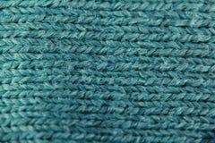 Textuur van het weefsel van de wolstof Stock Foto's